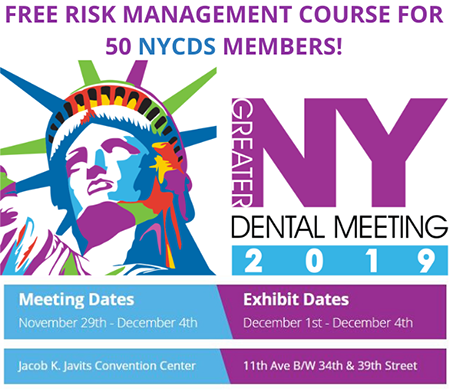 GNYDM 50 NYCDS Members FREE