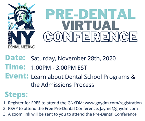 Special Virtual Opportunity for Pre-Dental Students