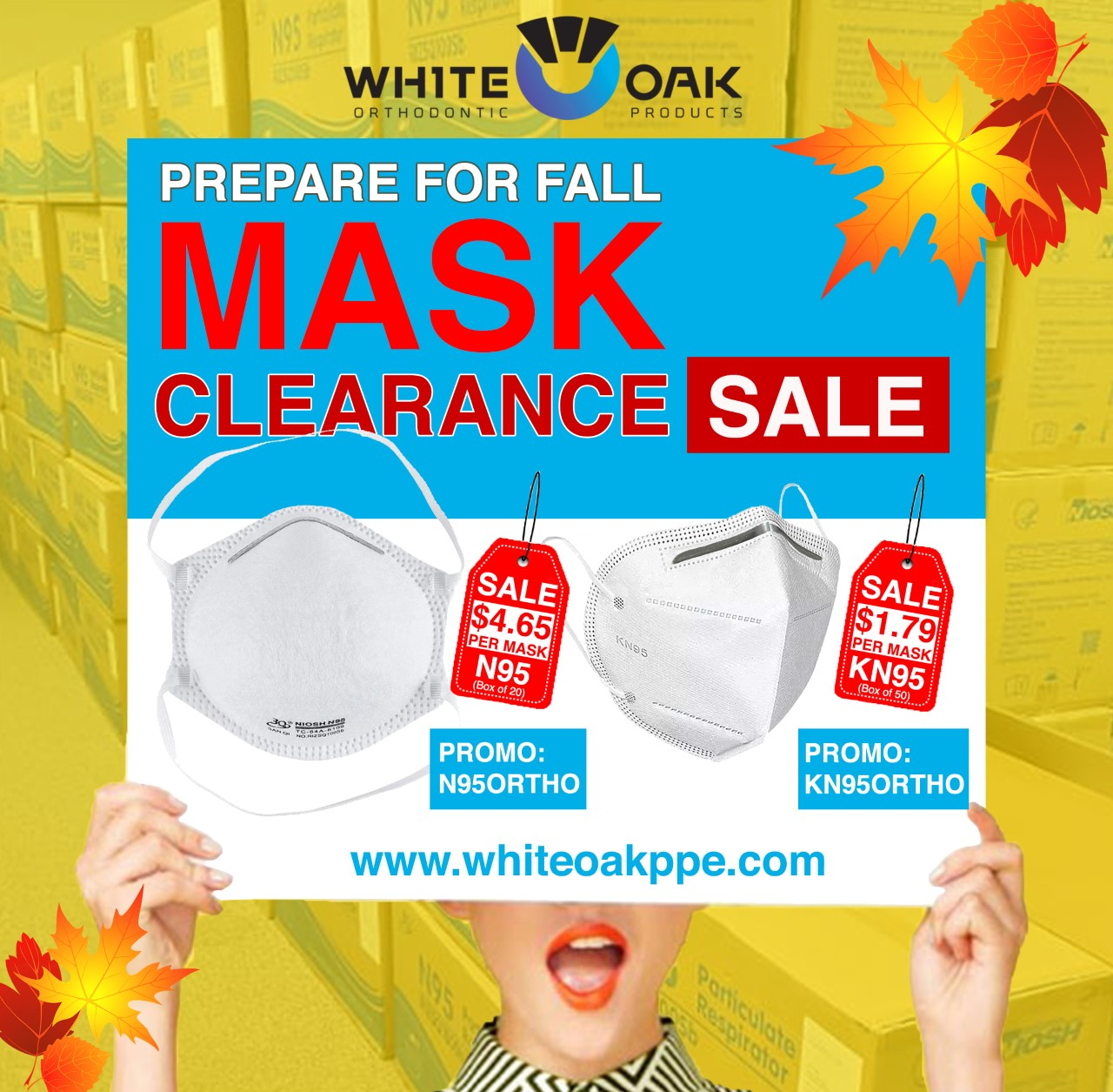 White Oak_PPE Clearance Sale